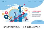 bright flyer leadership ... | Shutterstock .eps vector #1513608914