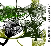 light green vector seamless... | Shutterstock .eps vector #1513636637