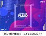 geometric wallpaper. trendy... | Shutterstock .eps vector #1513653347