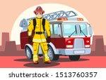 Firefighter  Man From Fire...