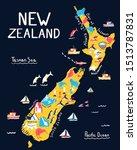 New Zealand Illustrated Hand...