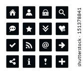 icon set 05 popular basic sign. ...