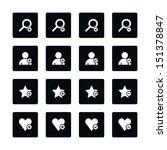 icon set 07 loupe  user profile ...