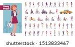 young folks big bundle... | Shutterstock .eps vector #1513833467