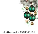 christmas ball isolated on... | Shutterstock . vector #1513848161