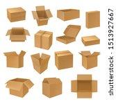 set of isolated isometric 3d... | Shutterstock .eps vector #1513927667