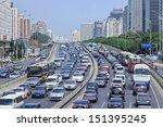 Beijing Aug. 24. Traffic Jam A...