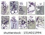 herbal illustration on label...   Shutterstock .eps vector #1514011994