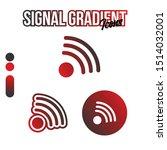 gradient signal icon packs...
