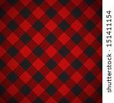 tilted seamless lumberjack... | Shutterstock .eps vector #151411154