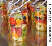 Servings Of Fruit Dessert In A...