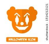 Halloween Icon  Evil Clown Icon ...