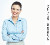Smiling Business Woman Portrai...