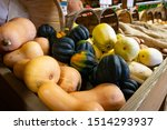 Various Autumnal Gourds And...