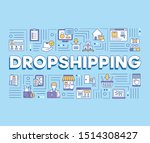 dropshipping word concepts...