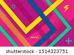 vector abstract purple pink... | Shutterstock .eps vector #1514323751