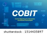 cobit  control objectives for... | Shutterstock .eps vector #1514435897
