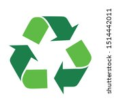 Green Arrows Recycle Eco Symbo...
