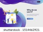 people planning work landing...   Shutterstock .eps vector #1514462921