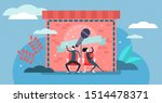 comedy vector illustration.... | Shutterstock .eps vector #1514478371