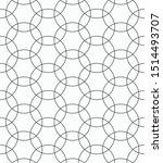 vector seamless pattern of... | Shutterstock .eps vector #1514493707