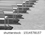 Black And White Image Of Rows...