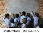 Children In Rural Indian...