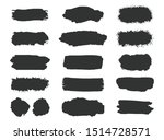 collection of grunge brush...   Shutterstock .eps vector #1514728571