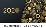 2020 new year luxury holiday... | Shutterstock .eps vector #1514740241
