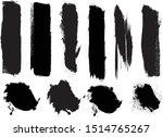 hand drawn scribble symbols... | Shutterstock .eps vector #1514765267