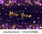bokeh sparkle christmas 2020...   Shutterstock .eps vector #1514769881