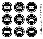 car icon set | Shutterstock .eps vector #151478999