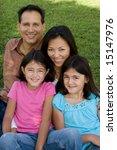 hispanic family | Shutterstock . vector #15147976