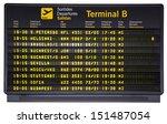 barcelona international airport ... | Shutterstock . vector #151487054