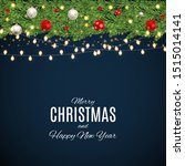 merry christmas and happy new... | Shutterstock .eps vector #1515014141