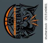 bobcats basketball team design...   Shutterstock .eps vector #1515140801