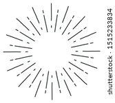 sun burst  star burst sunshine. ... | Shutterstock .eps vector #1515233834