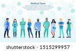 international team of... | Shutterstock .eps vector #1515299957