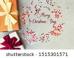 merry christmas concept with... | Shutterstock . vector #1515301571