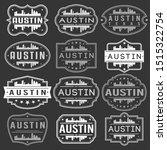 austin texas skyline. premium... | Shutterstock .eps vector #1515322754
