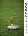 Model Rocket Launch Takeoff...
