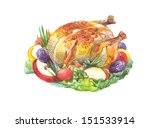 Thanksgiving Roasted Turkey...