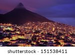city of cape town  south africa.... | Shutterstock . vector #151538411