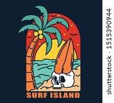 simple design beach brand... | Shutterstock .eps vector #1515390944