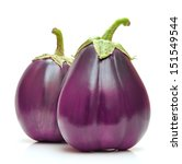 eggplant isolated on white... | Shutterstock . vector #151549544