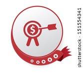 target finance symbol vector   Shutterstock .eps vector #151554341