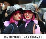 Small photo of Paris Fashion Week Women SS 2020 - Christian Dior Spring/Summer 2020, in Paris, France on September 24, 2019. Guests arrivals, Ami Suzuki, Aya Suzuki