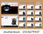 Desk Calendar With Funny Cats...