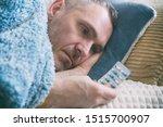 mature man suffering from... | Shutterstock . vector #1515700907