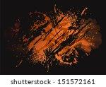 grunge vector background eps8 | Shutterstock .eps vector #151572161
